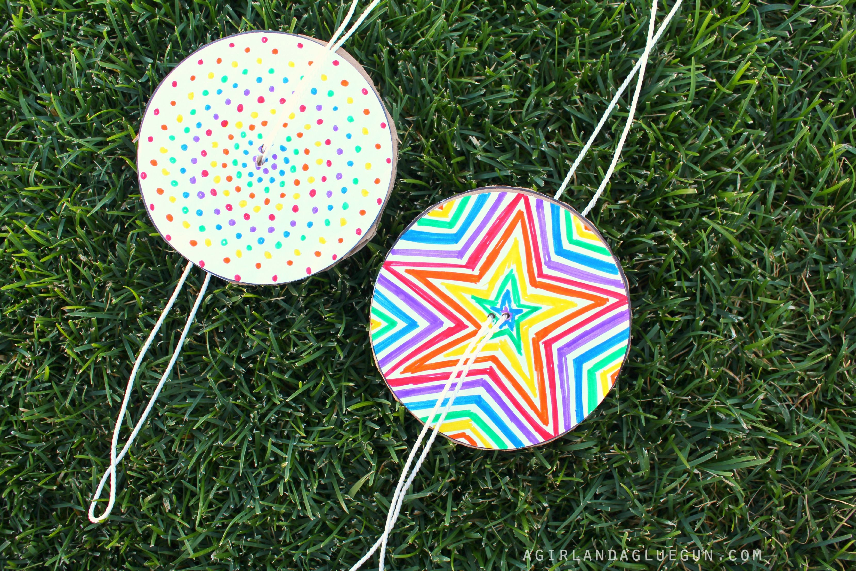 fun colorful spinners