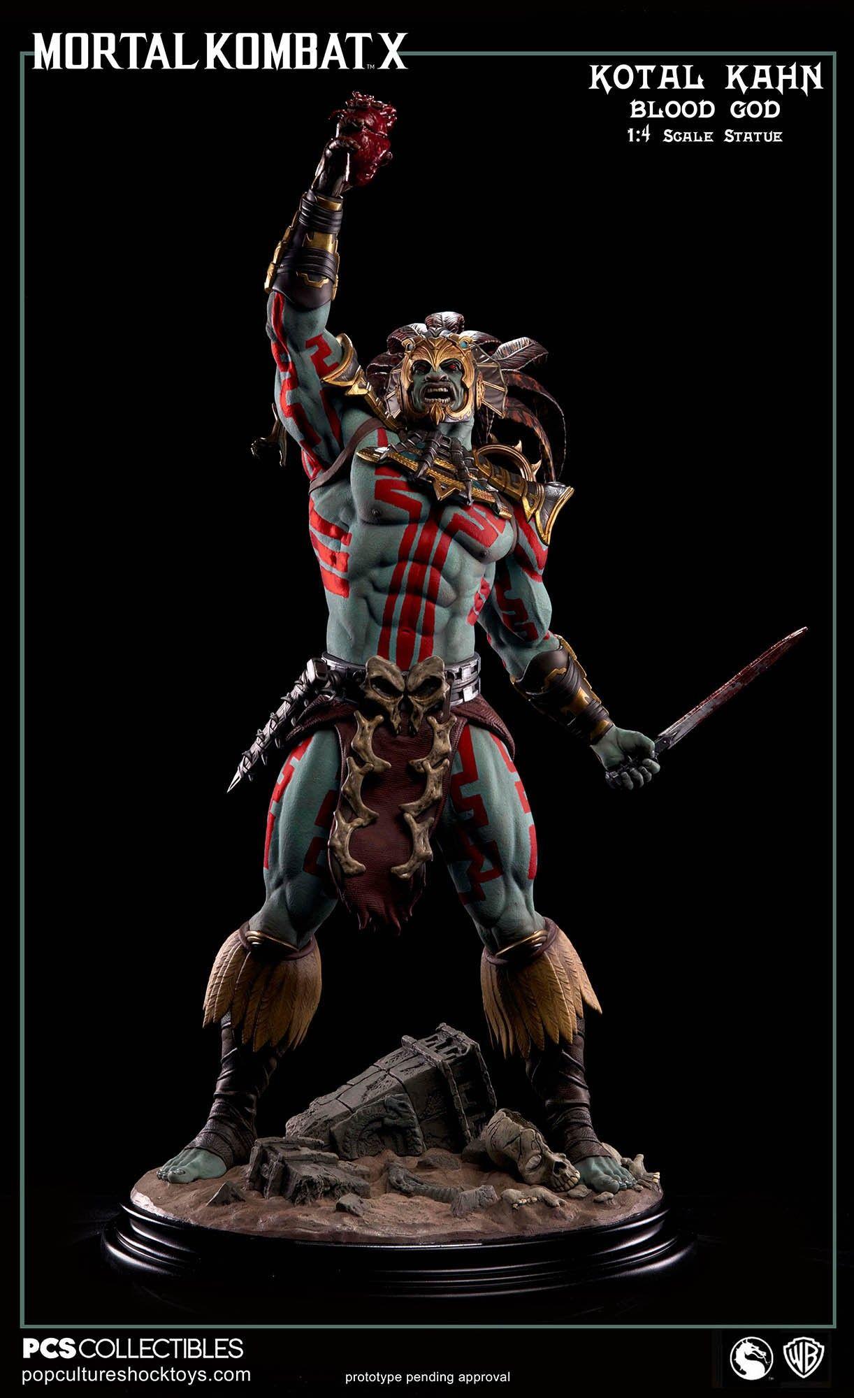 Download Wallpaper x Kotal kahn Mortal kombat x Oshtekk