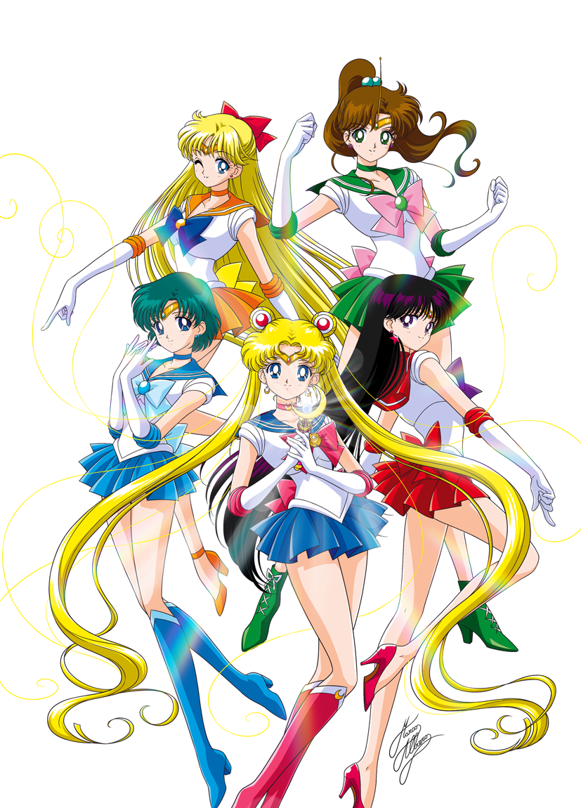eternal sailor scouts cosplay