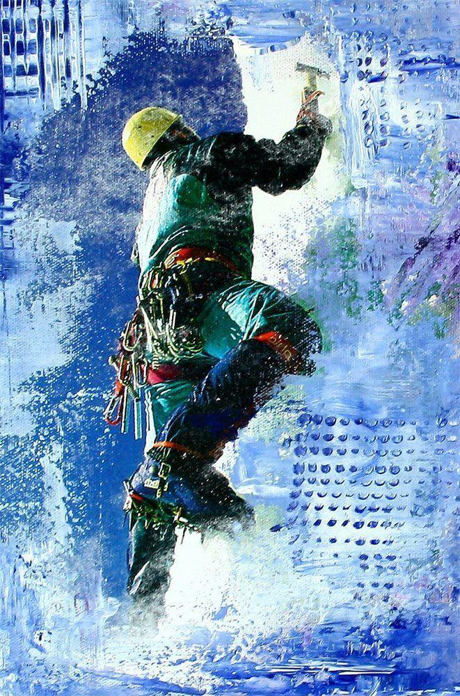 Burgstaller Original Gemalde Acryl Bilder Abstrakte Kunst Malerei