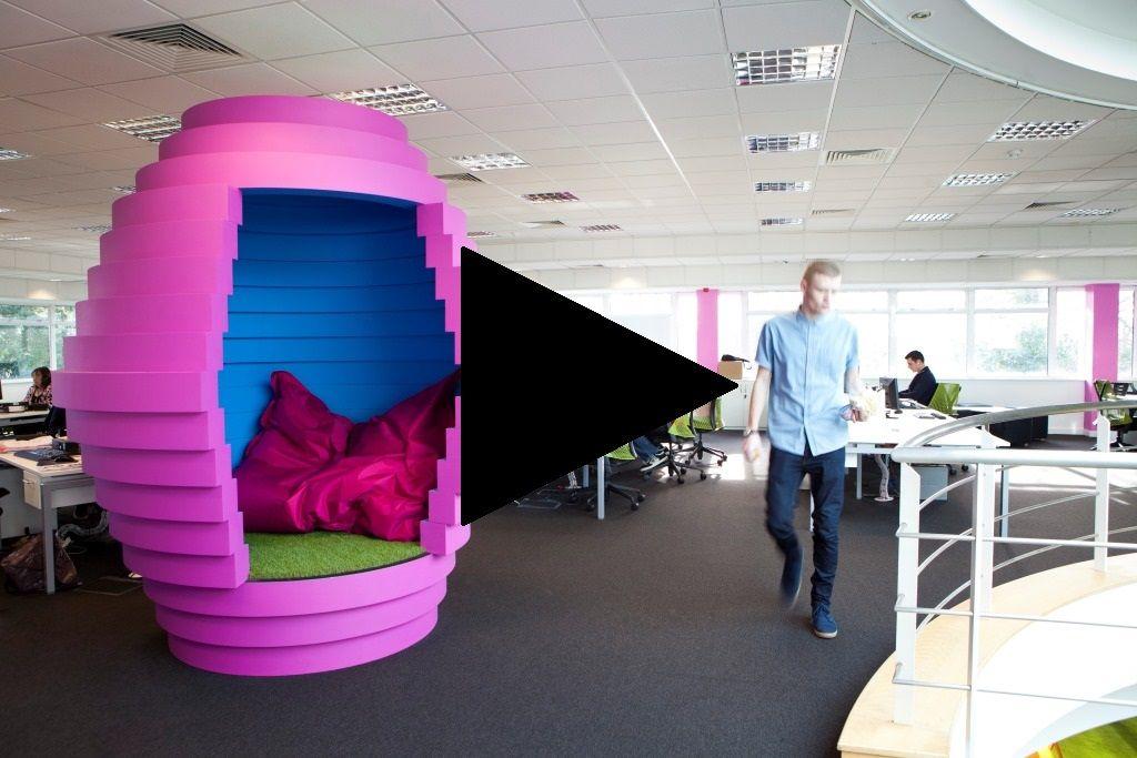 funky office interiors. Funky Office Interior Design VIDEO Interiors Pinterest