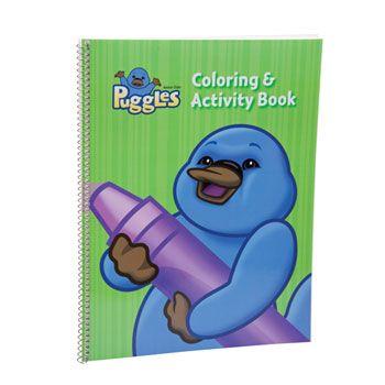 Puggles Coloring Activity Book Color Activities Book Activities Awana Puggles