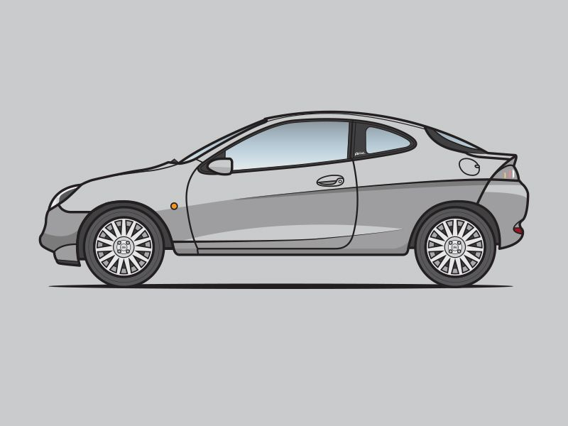 Ford Puma Coches Autos Dibujos