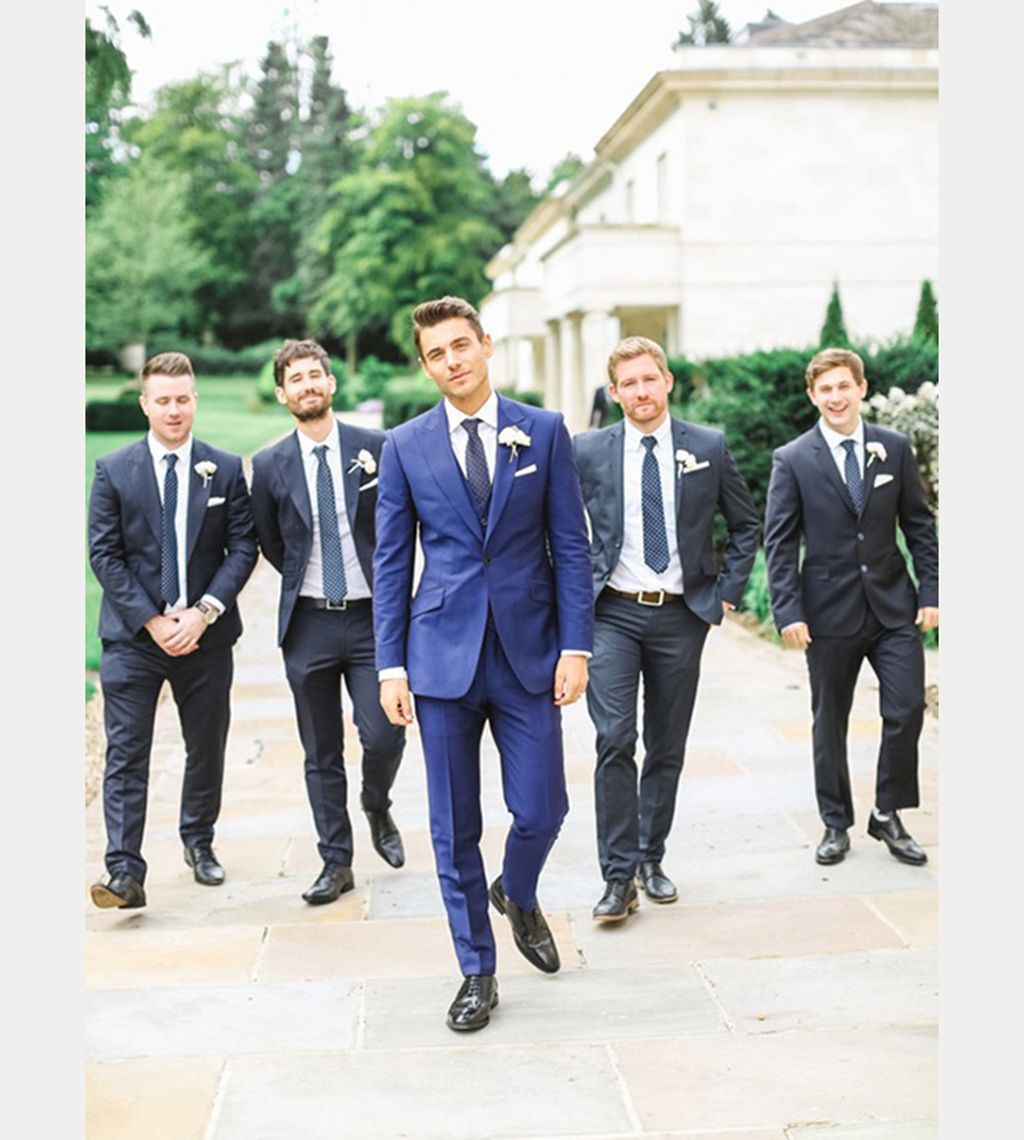 58 Best Stylish Blue Groomsmen Suits Ideas Suitable For Every Man Vis Wed