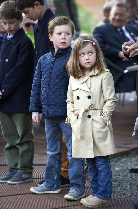 Prince Christian & Princess Isabella.