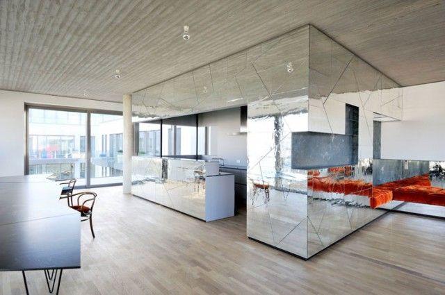 Hochwertig Mirror, Mirror: A Penthouse In Berlin By LecaroliMited (Oskar Kohnen U0026  Fabian Freytag)