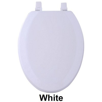 Ben And Jonah Fantasia 19 Wood Elongated Toilet Seat Color White