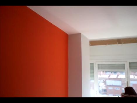 Pintura Plastica Color Gris Claro Y Naranja Colors Un