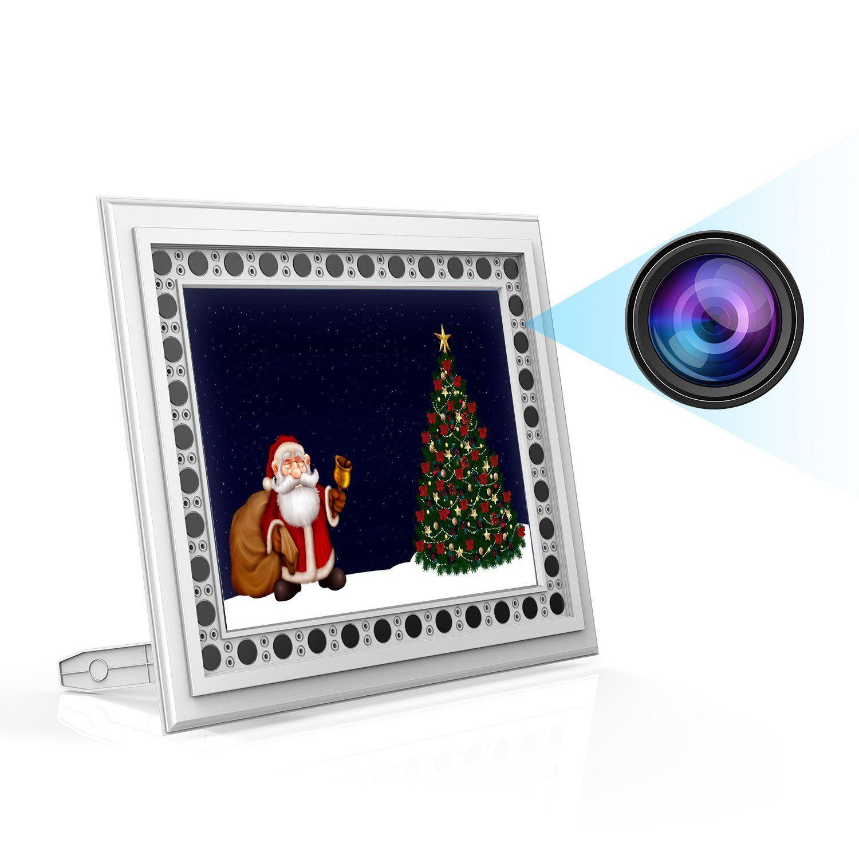Home Hidden Camera Conbrov T10 720P Photo Frame Spy Camera with ...
