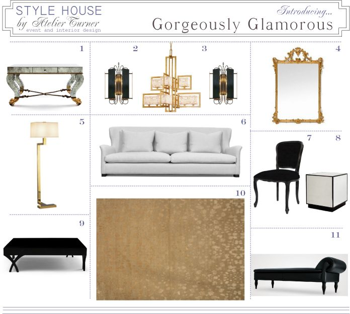 Gorgeously Glamorous Home Atelier Turner The Design Blog