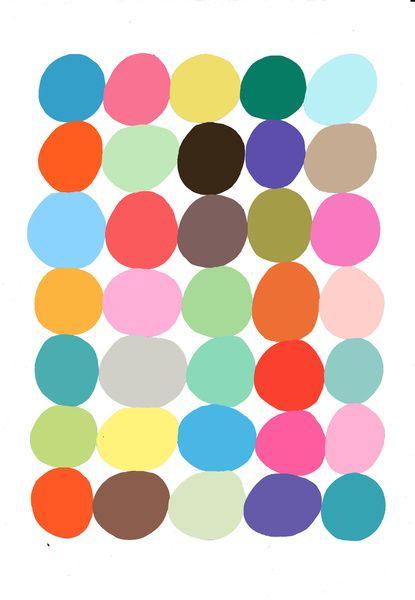 Big Bright Spots Art Print