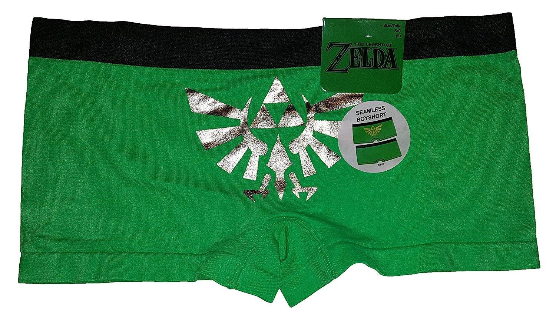 66dd9d97a13 Legend of Zelda Green Seamless Boyshort Panties - C6186RO558A ...