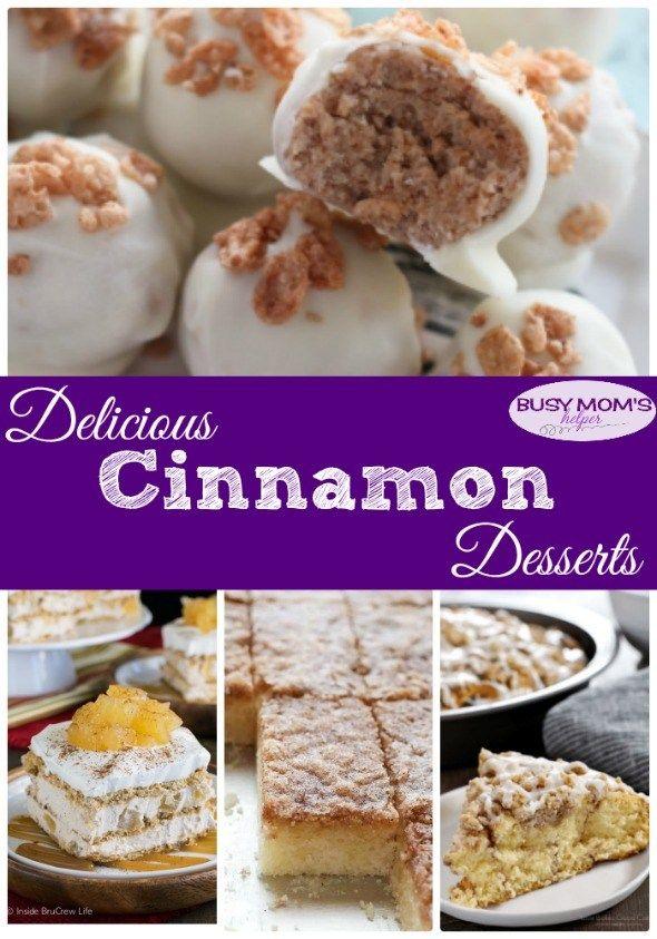 Delicious Cinnamon Desserts Delicious Cinnamon Desserts