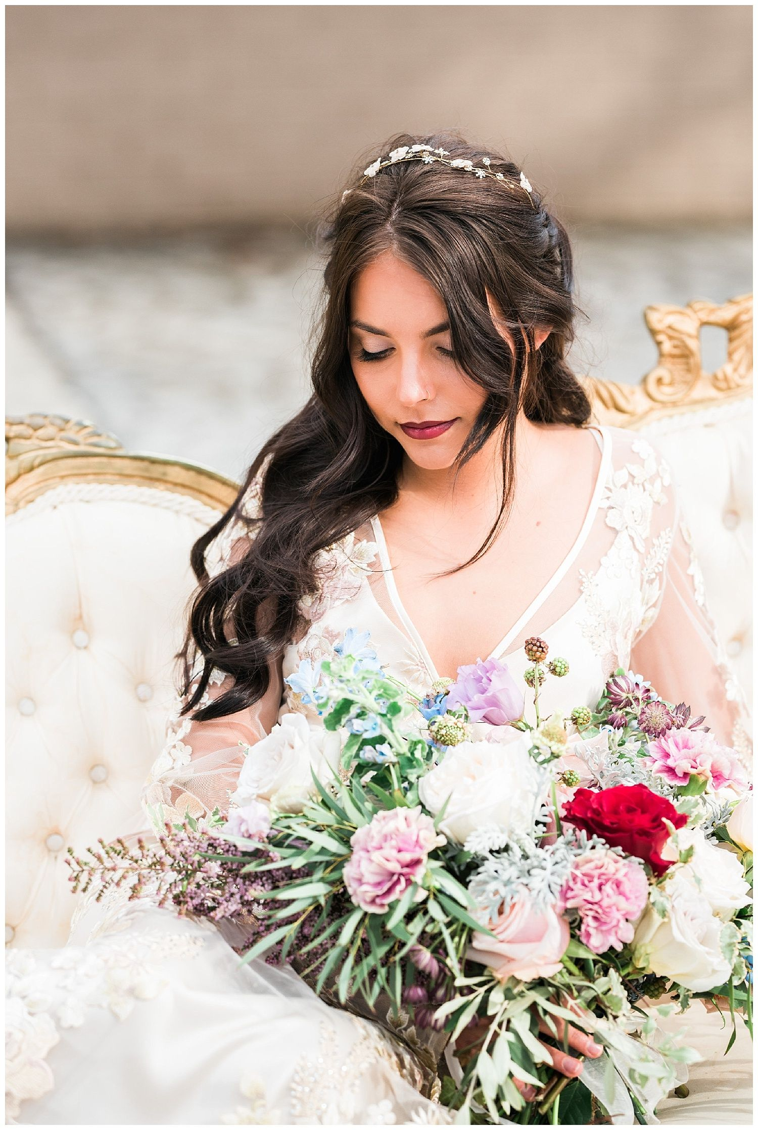 Wedding dresses pittsburgh  Beauty and the Beast Wedding Inspiration at Buhl Mansion u Kathryn