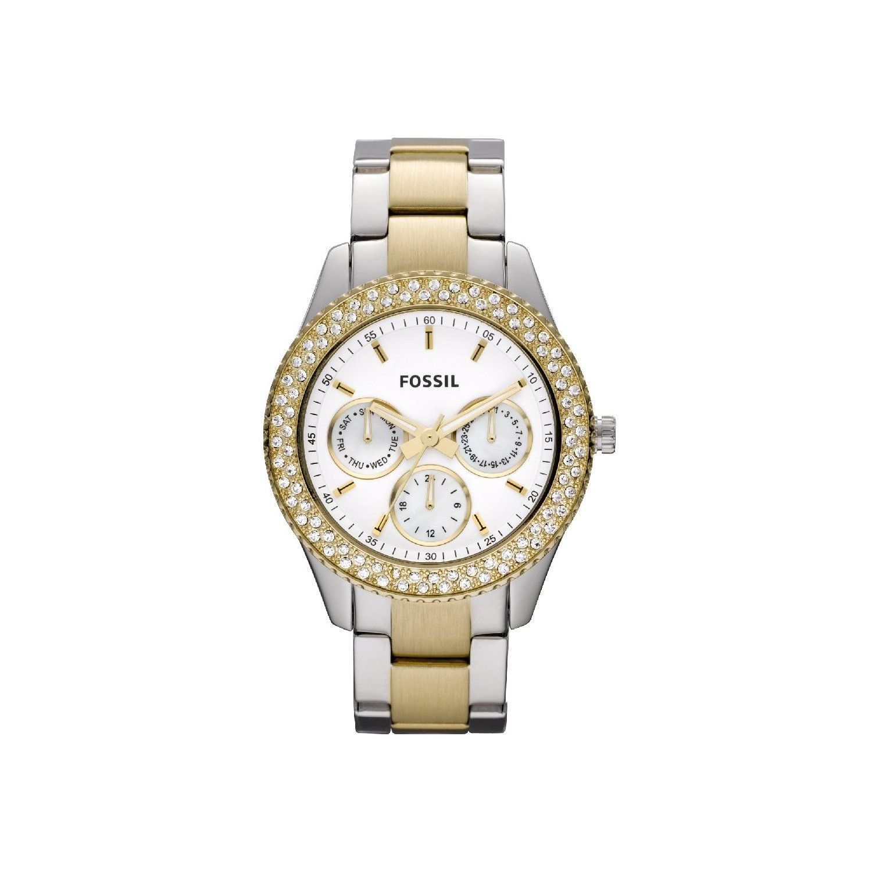 354qjlcar Damen Bicolorunbedingt Kaufen Stella Uhren Fossil wm8nNv0