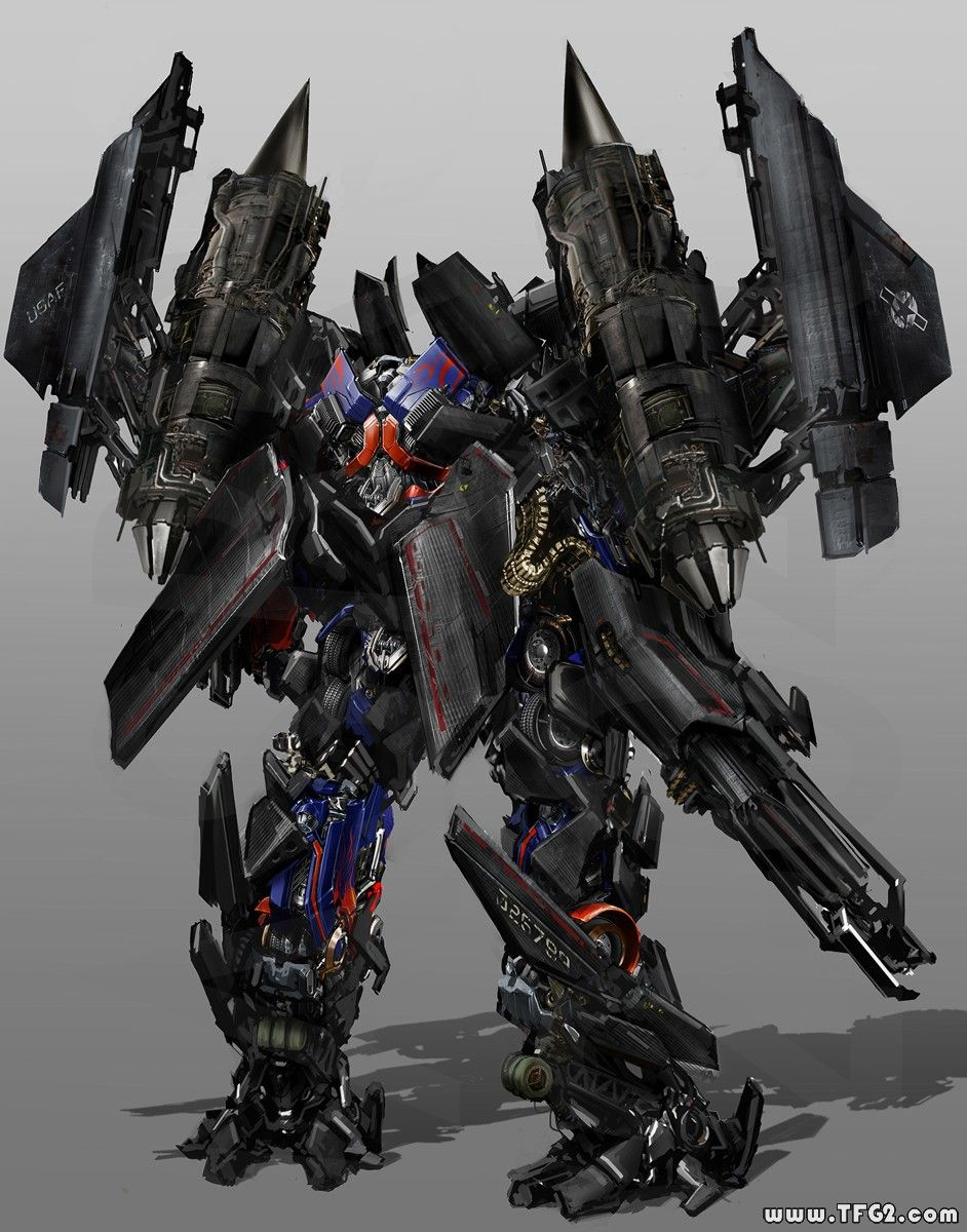 transformers 3 - concepts of jetfire & optimus prime combined