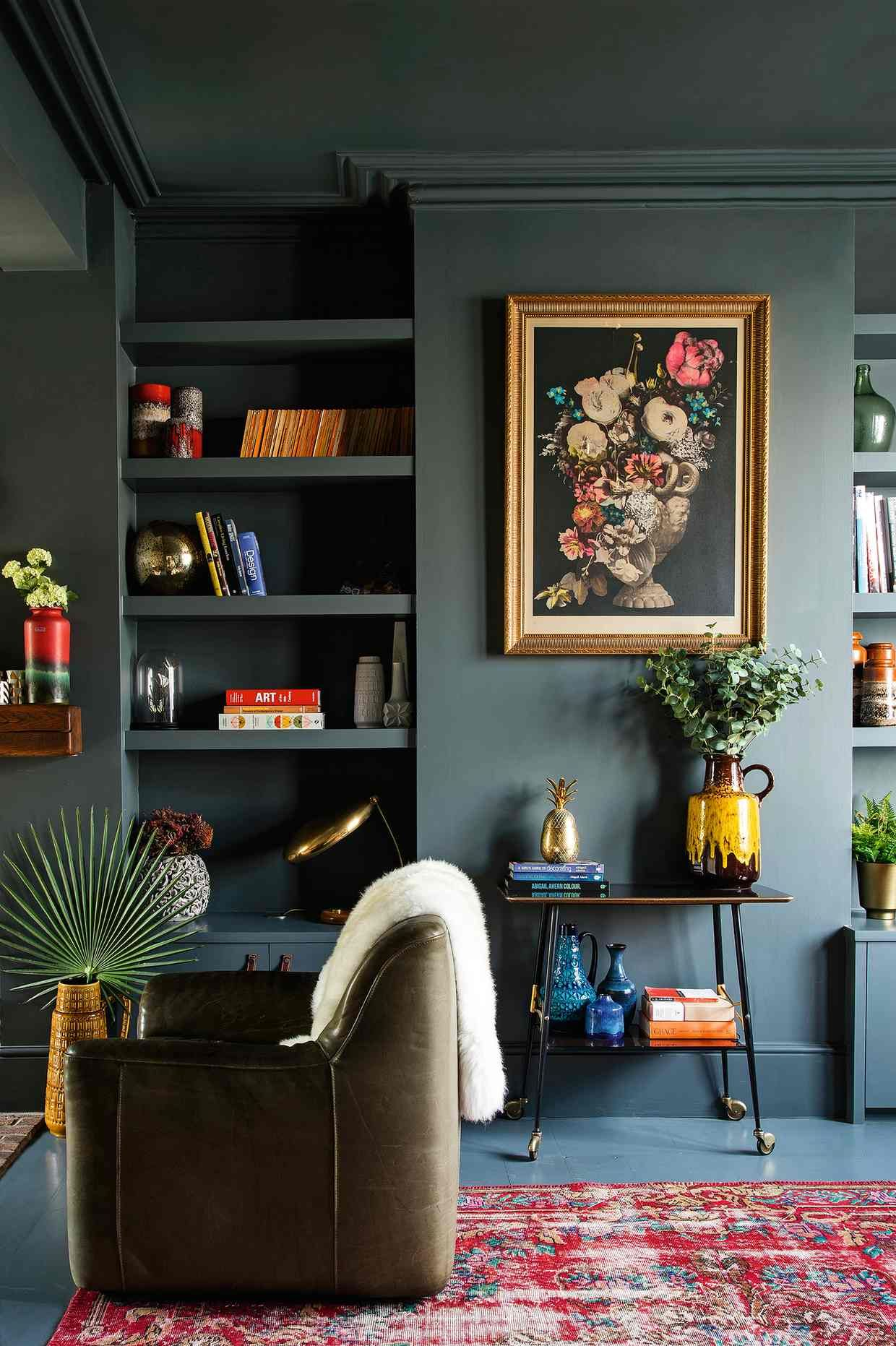 Homes Why Dark Grey Is A Bright Idea Dark Living Rooms Li