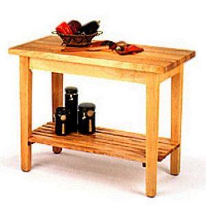 Awesome Kitchen Prep Table butcher Block