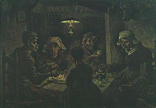Los comedores de patatas (1885). Vincent Van Gogh. | Vincent | Van ...