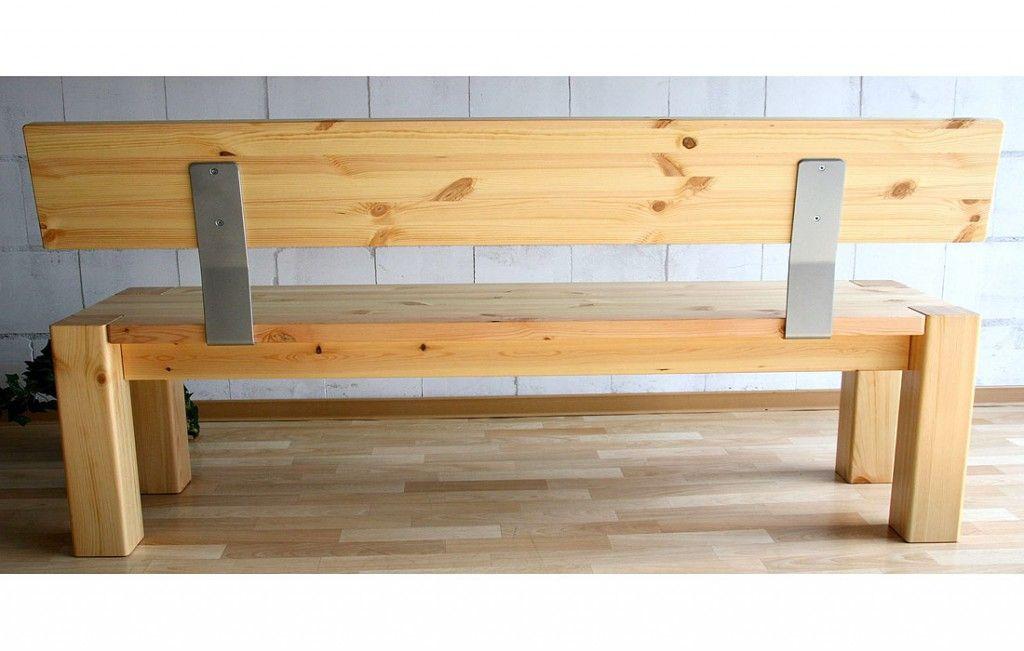 Bank Valkenburg Oak Graphitgrau Eiche Holz Altholz Und Holz