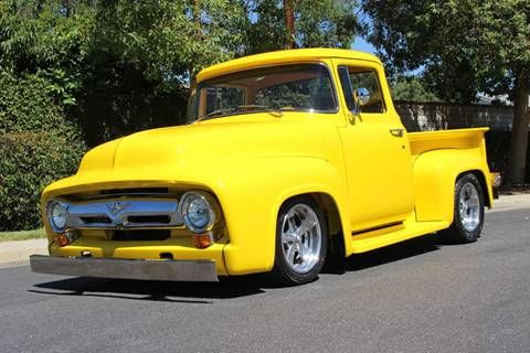 1956 Ford F 100 For Sale In La Verne Ca Ford Pickup For Sale Ford Classic Pickup Trucks