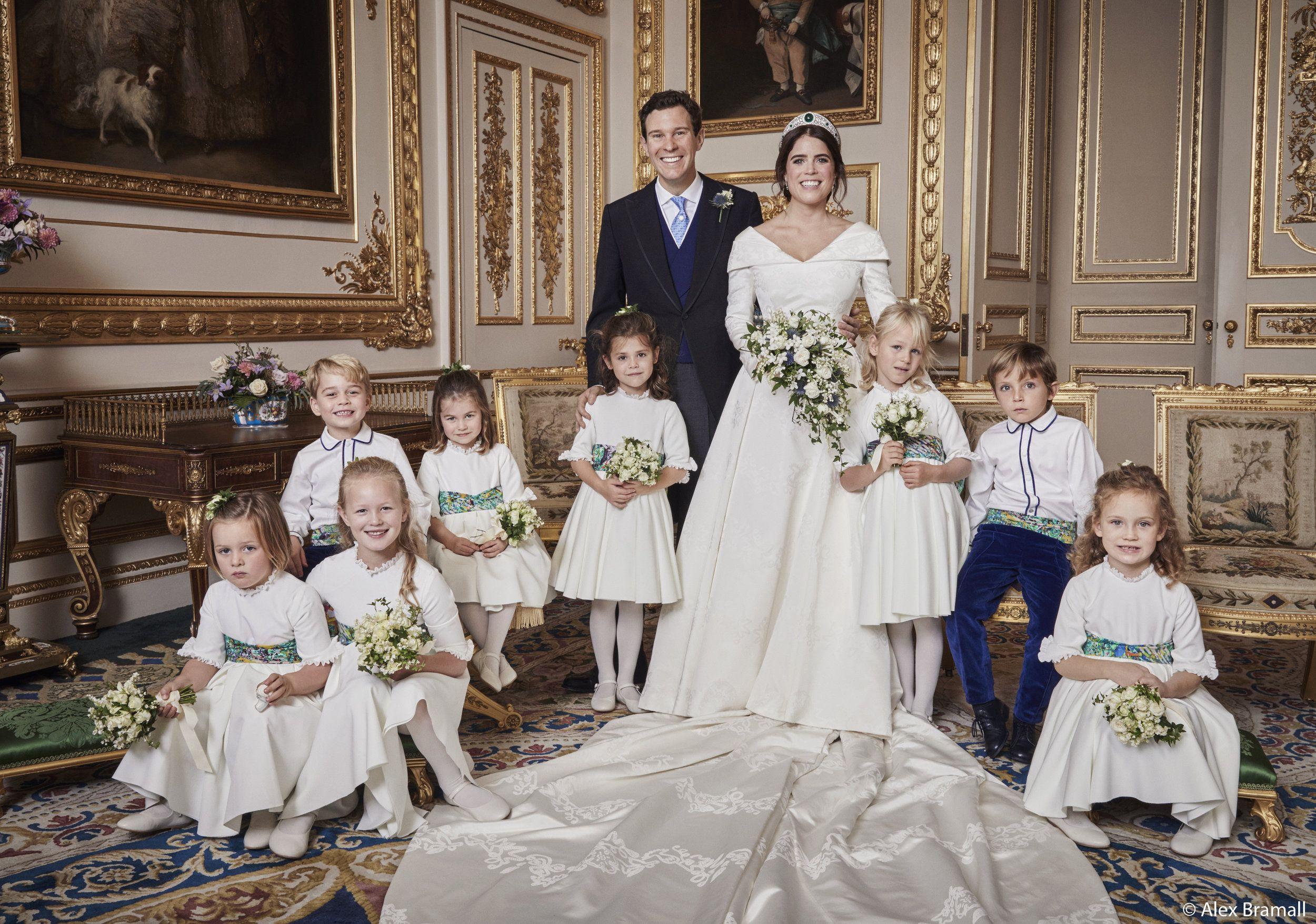 Eugenie Jack Die Hochzeitsfotos Sind Eine Sensation Royale Hochzeiten Hochzeitsportraits Prinzessin Eugenie