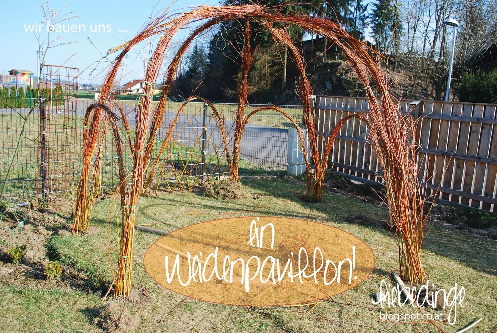 Gartenpavillon selber bauen 2 ideen mit bauanleitung gartenpavillon selber bauen aus weiden - Gartenpavillon selber bauen ...