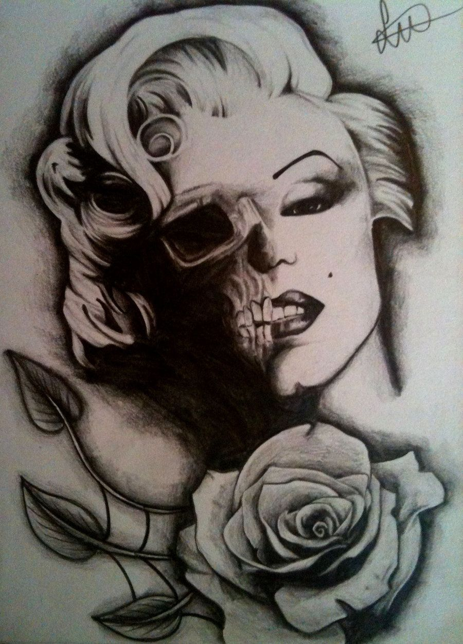 Tattoo Flash Art Zombie Zombie 3 years ago in tattoo New ...