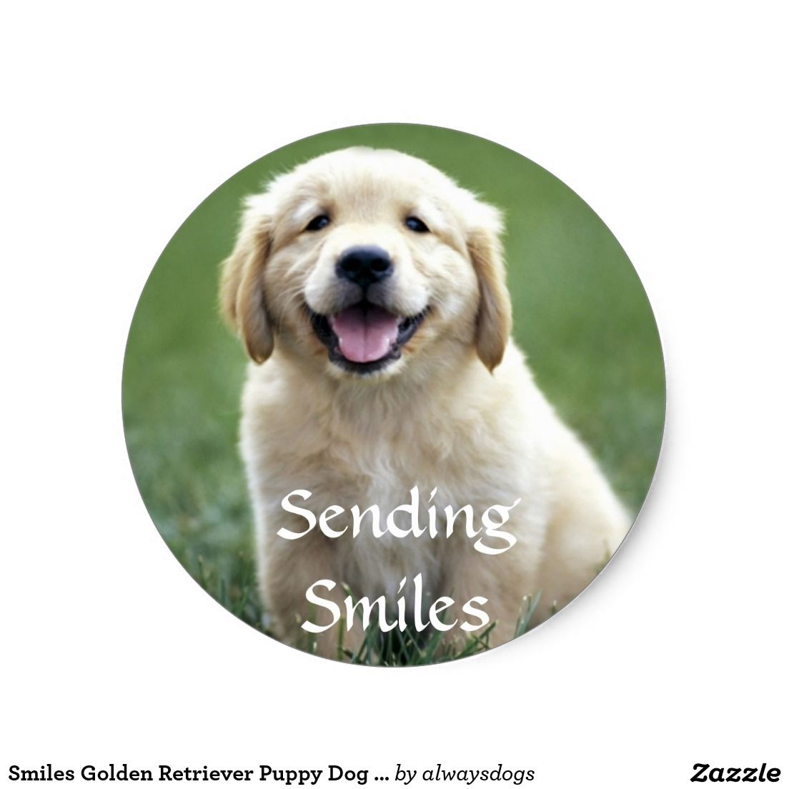 Create Your Own Sticker Zazzle Com Puppies Retriever Puppy