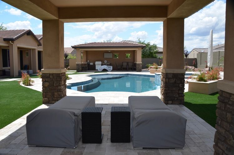POOL BUILD HIGHLIGHT THE PRITCHETT FAMILY OF LITCHFIELD PARK AZ