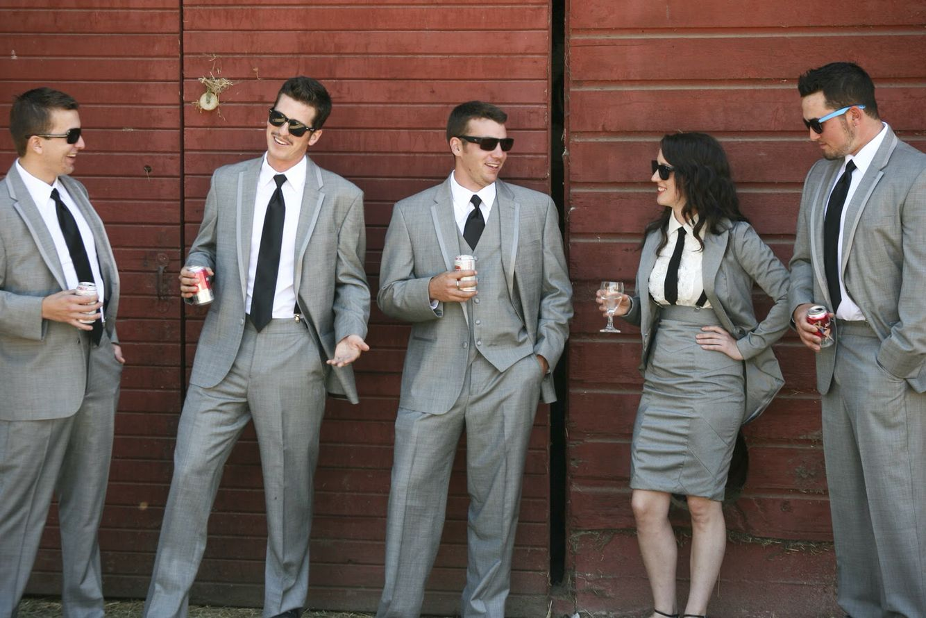 Why not have a lady in the grooms party. A best woman, and maybe even a man of honor.