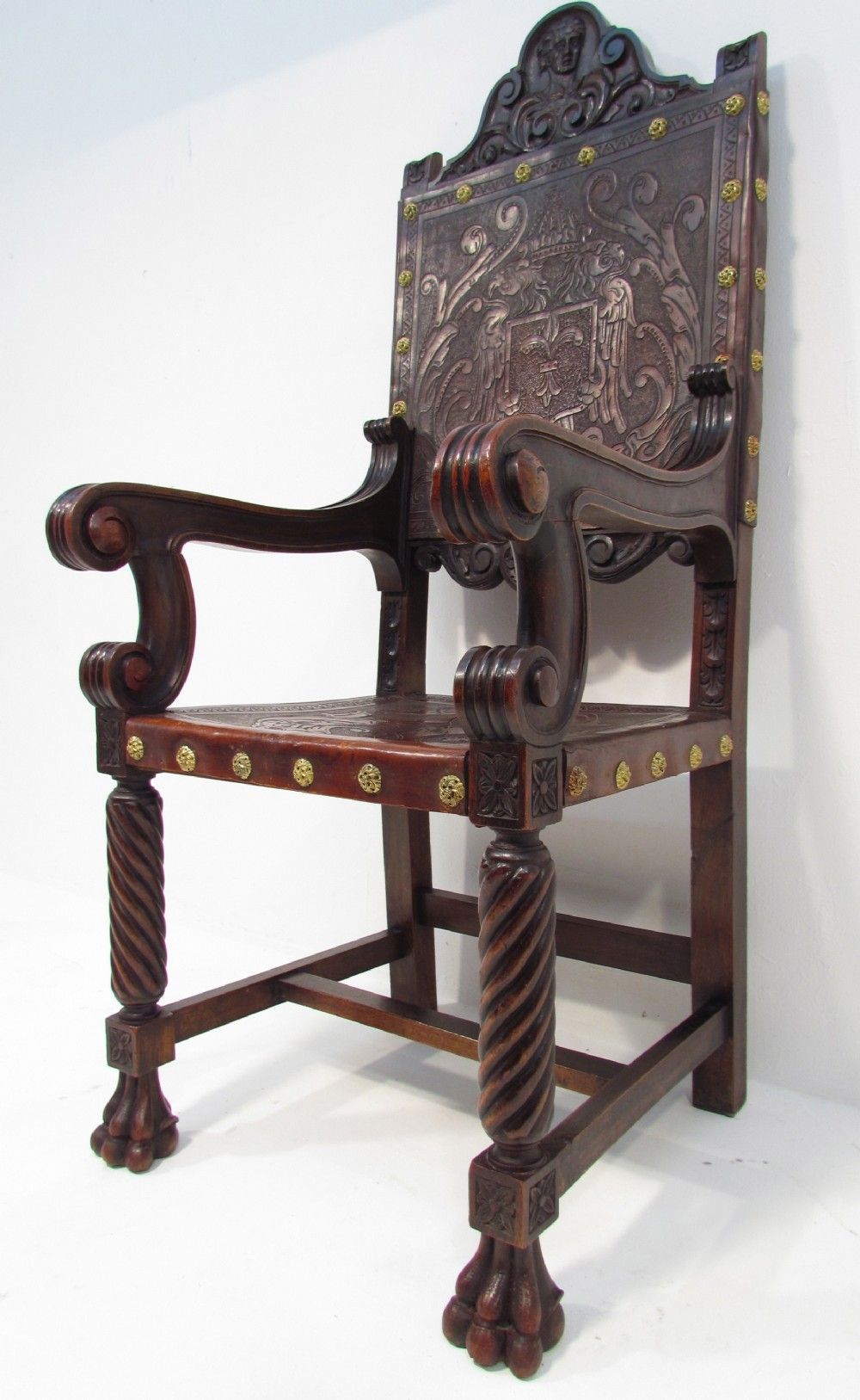 Would love to own this chair! A Beautiful Antique 19th C