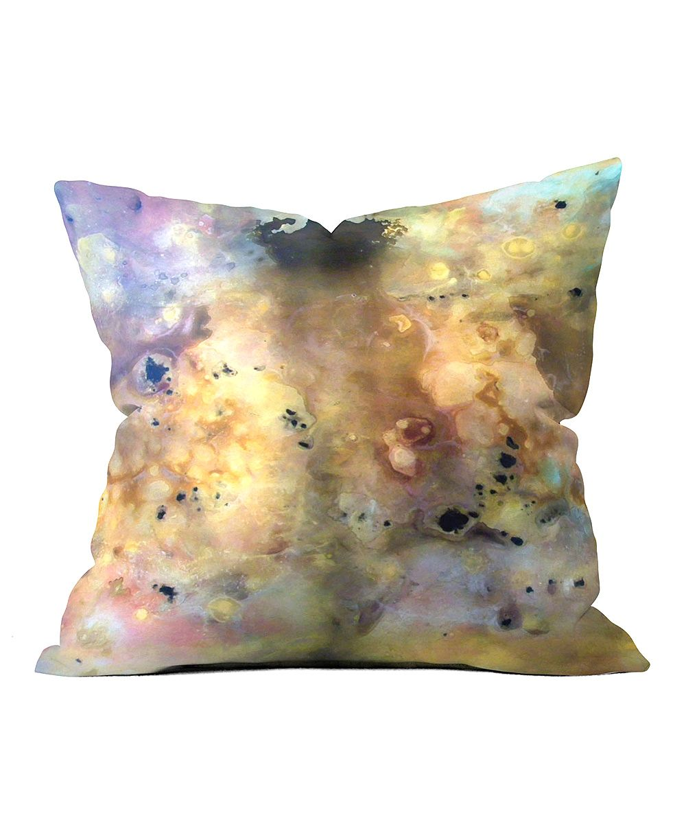 Lost In Space Throw Pillow - Black Couch Spaces