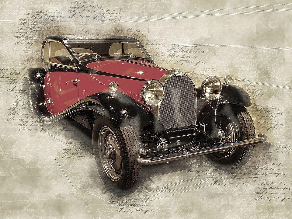 Бесплатные фото на Pixabay - Bugatti, 1932, Автомобиль ...