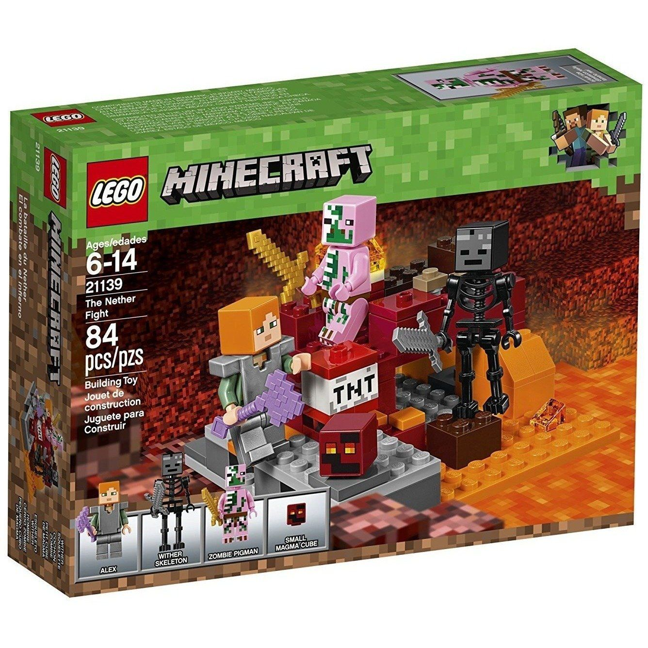 LEGO 21139 Minecraft The Nether Fight Liam's stuff