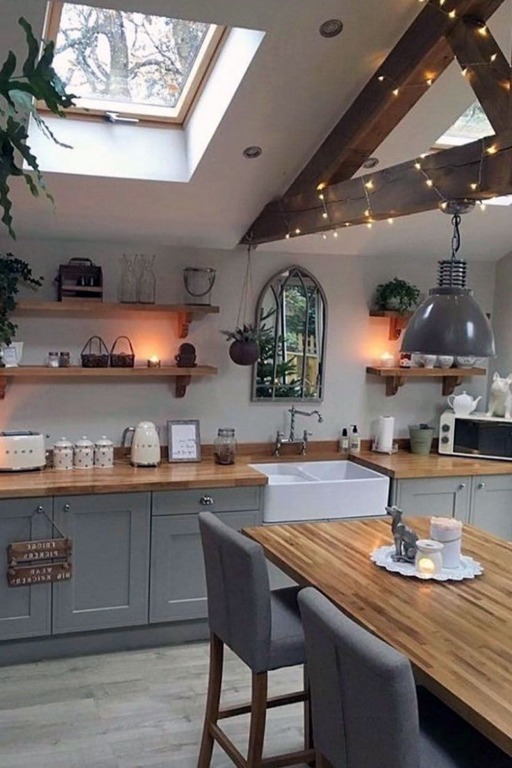 40 Amazing Rustic Scandinavian Kitchen Ideas For Increasing Harmony Amazi In 2020 Scandinavian Kitchen Rustic Kitchen Shabby Chic Kitchen