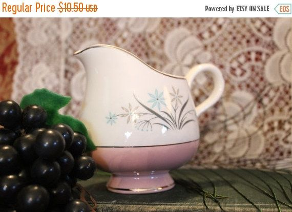 SPRING SALE Mid Century Two Tone Pink and by MagnoliaRestorations