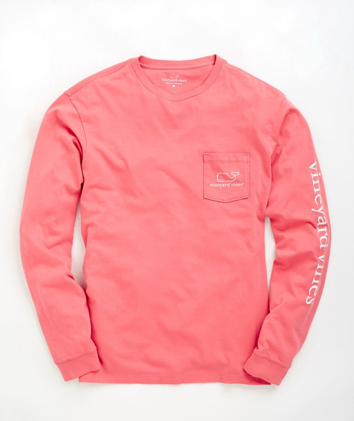 8d7b1412 Vineyard Vines Long-Sleeve Vintage Whale Graphic Pocket T-Shirt - Maui Blue  Xxl