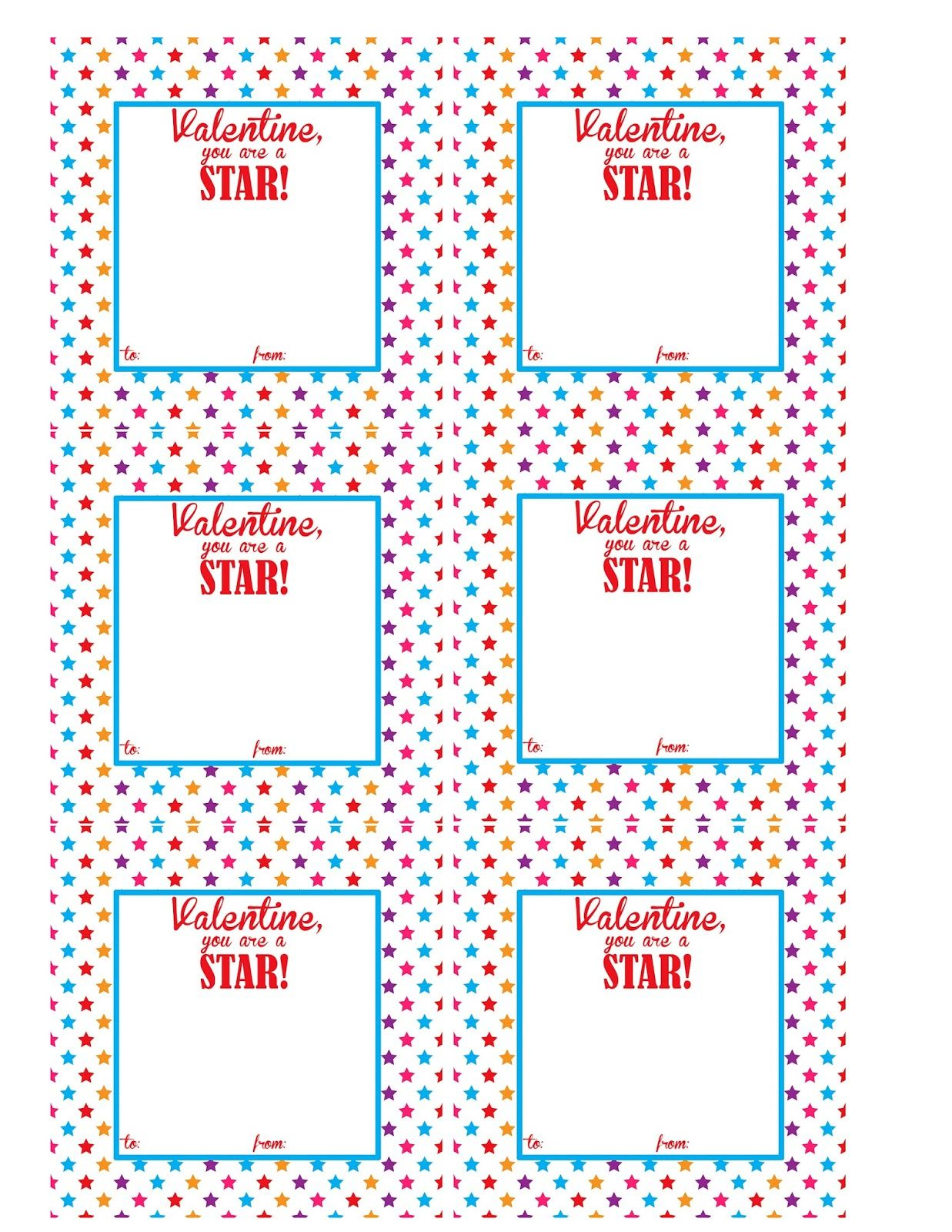 photograph relating to Printable Kid Valentine identify Starburst Valentine Programs Free of charge Printable Preschool