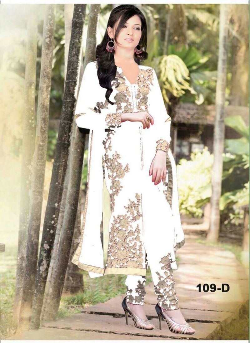 16710fe8cf White Designer Heavy Embroidery Stylish Suit, 7 Days Easy Return,Buy  Designer suit,Embroidery salwar suit, Party Wear suit, .