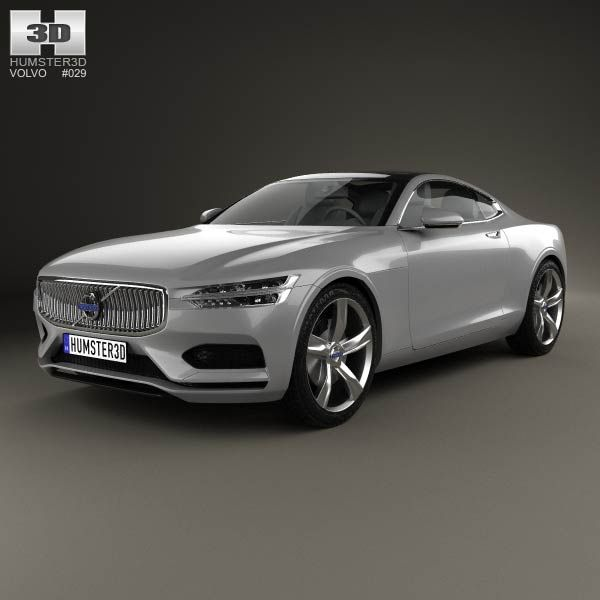 Volvo Pricing: Volvo Concept Coupe 2013 3d Model From Humster3d.com