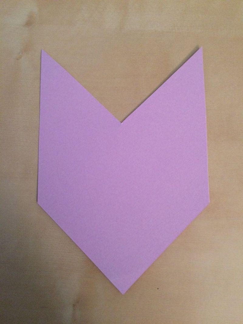 Geräumig Lesezeichen Basteln Aus Papier Ideen Von Selber Machen Kinder Lila Einfach