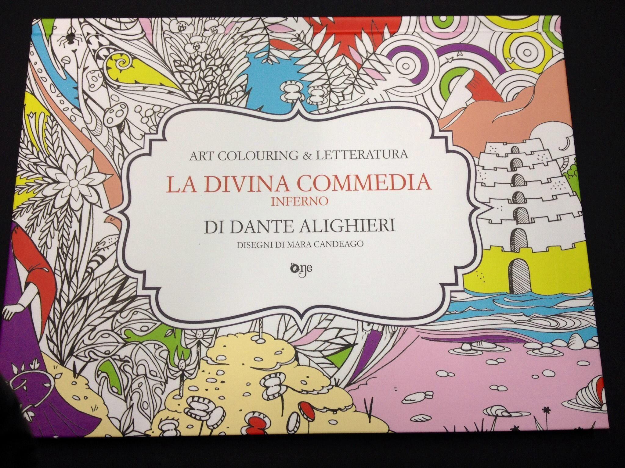 Art Colouring & Letteratura  LA DIVINA COMMEDIA Inferno di DANTE ALIGHIERI
