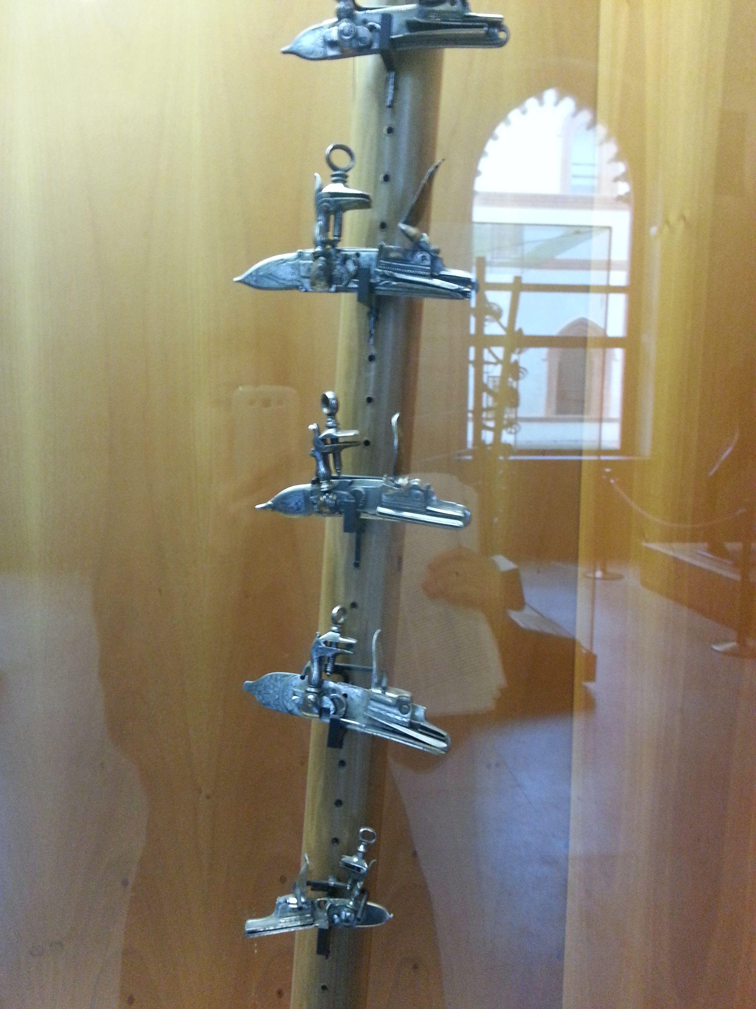 Arte Longobarda - dettagli fucile