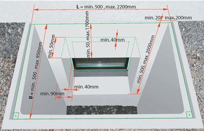 Spiegelschacht Keller heliobus spiegelschacht key dimensional parameters a lovely modern