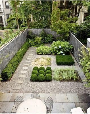 Diseos de patios y jardines minimalistas Patios Ideas para and