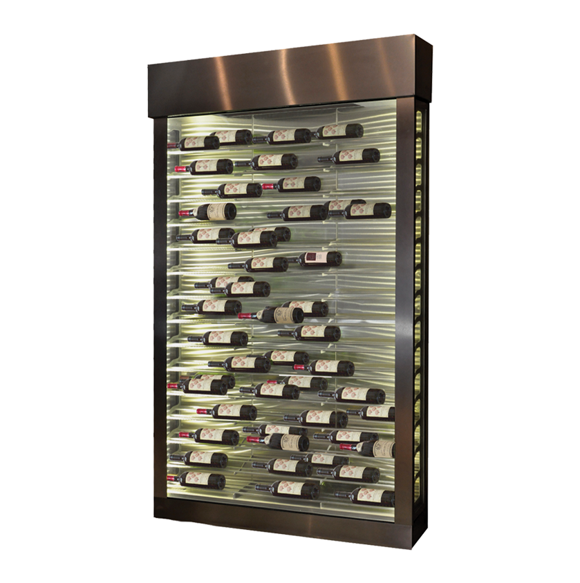 Urban Series Conditioned Wine Cabinet Made From Stainless