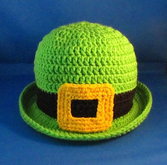 Crochet Pattern Leprechaun Hat : St.Patricks Day crochet on Pinterest