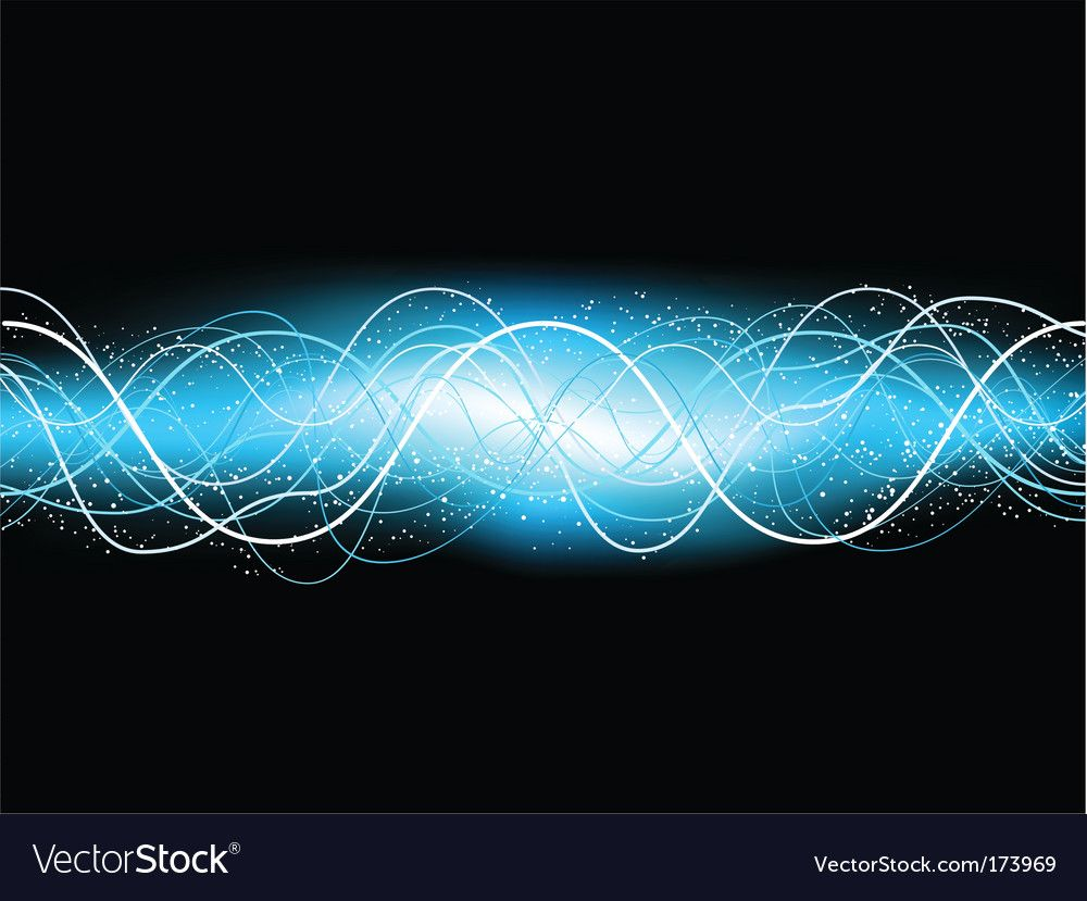 Electric blue background Royalty Free Vector Image ,