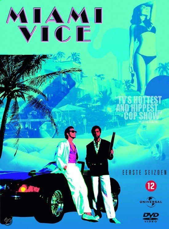 DVD cover - Miami Vice